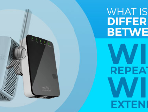 What is the Difference Between a wifi Extender and a wifi Repeater