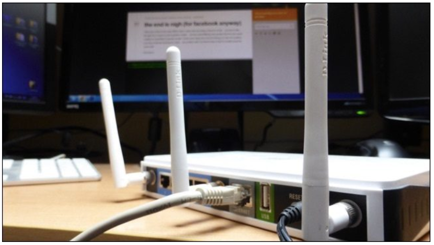 The functionality of a router