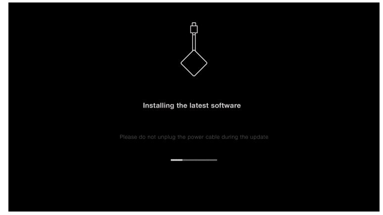 wait for installation