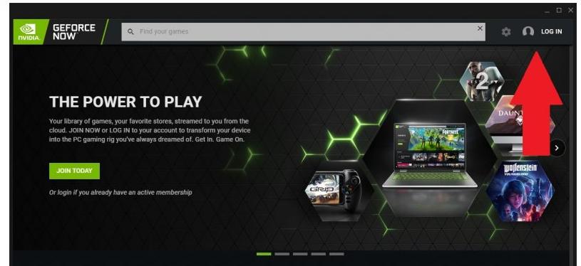 login Nvidia