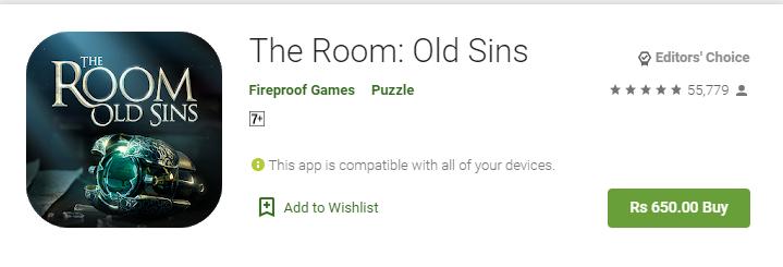 old room sins