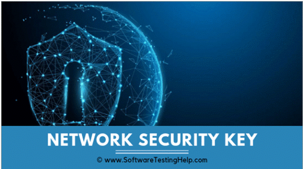 How to find network security key on android