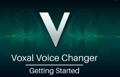 voxal vocal changer