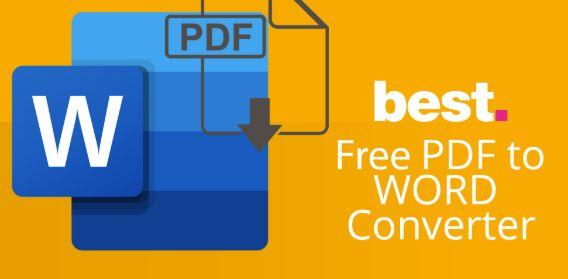 3 Best PDF to Word Converter Online