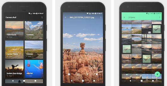 Camera Roll - Best gallery apps for android