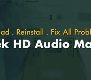How To Install Realtek HD Audio Manager Windows 10