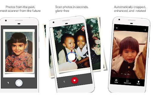 Photo Scan by Google - Photo Scanner Apps