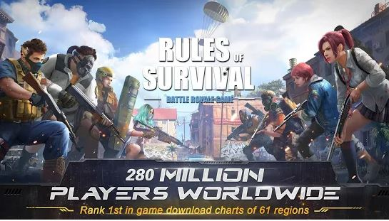 Rules of Survival - Games like PUBG