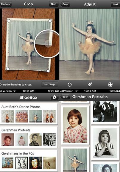 Shoebox - Photo Scanner Apps