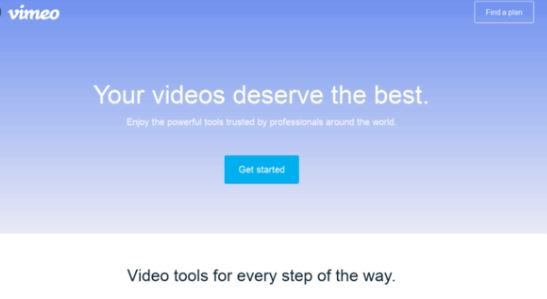Vimeo - Best Video Sharing Sites