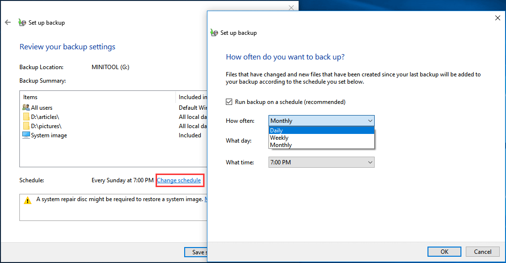 Time Machine for Windows