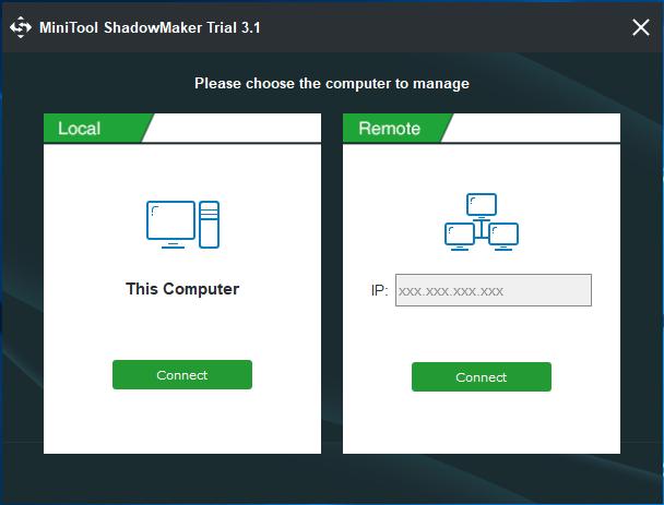 MiniTool ShadowMaker