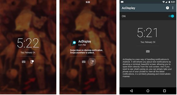 AcDisplay – Lock Screen Apps