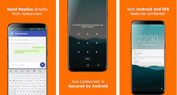 Ava Lockscreen – Lock Screen Apps