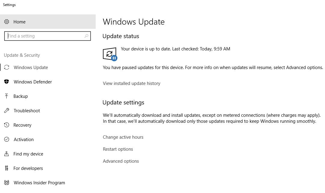 Check for Updates - How to Speed Up Windows 10