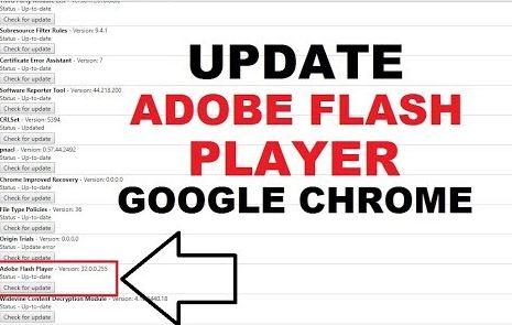 Fix Adobe Flash Player Through Chrome Components