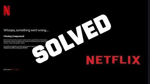 Fix Netflix Issue