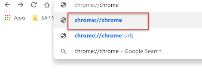 How to Locate Chrome Components Page?