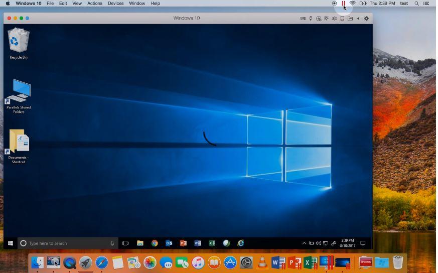 Parallels – Best VirtualBox alternatives
