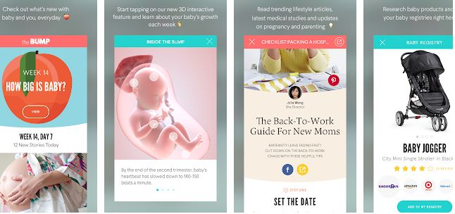 The Bump Pregnancy Countdown– Best Pregnancy Apps for Android