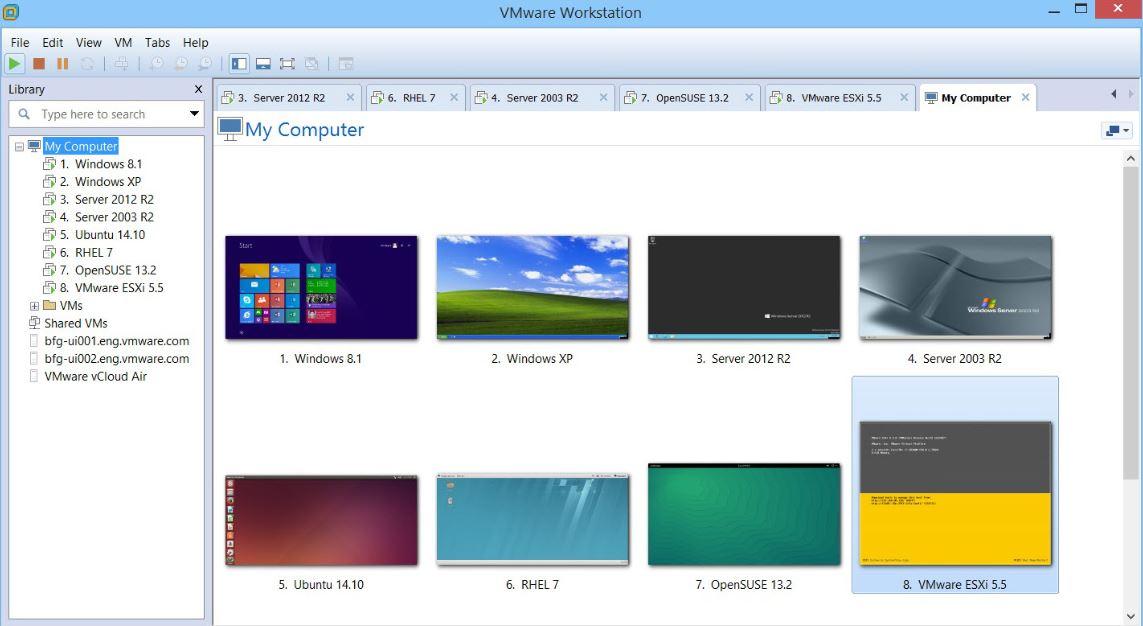 VMware Workstation Player – Best VirtualBox alternatives