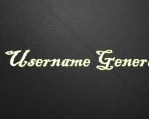 Best username generators available for free
