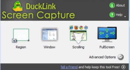 DuckCapture - Best Snipping Tool Alternatives