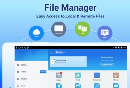 ES File Manager for PC