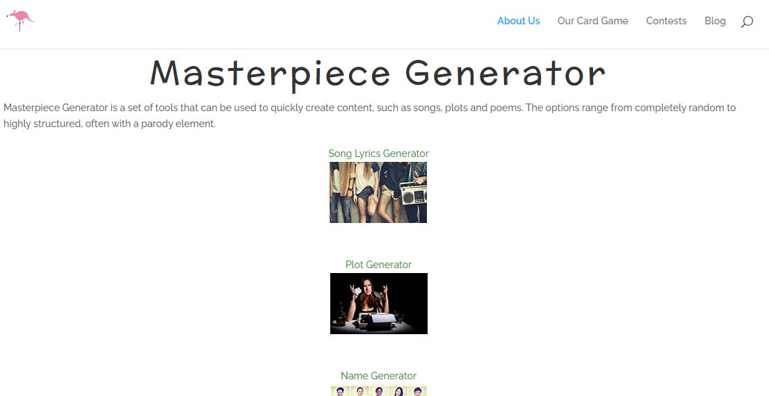 Masterpiece Generator - Best username generators available for free