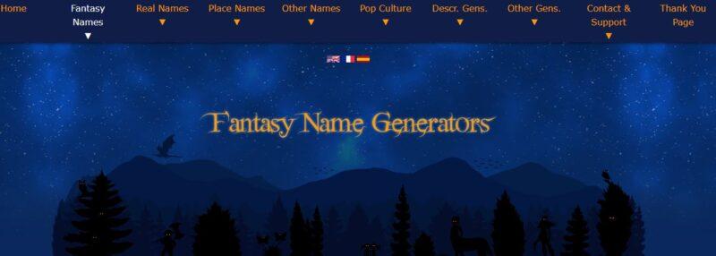 Fantasy Name Generator - Best Twitch Name Generators Free