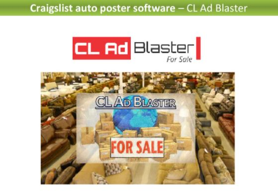 CL Ad Blaster - Best Craigslist posting software to use