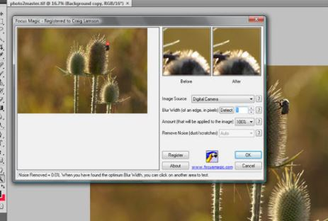 Focus Magic - Best unblur photos online.